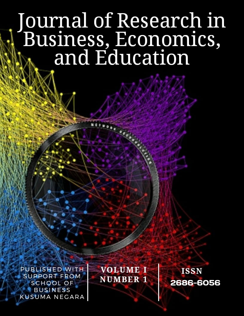 Journal of Research in Business, Economics Education