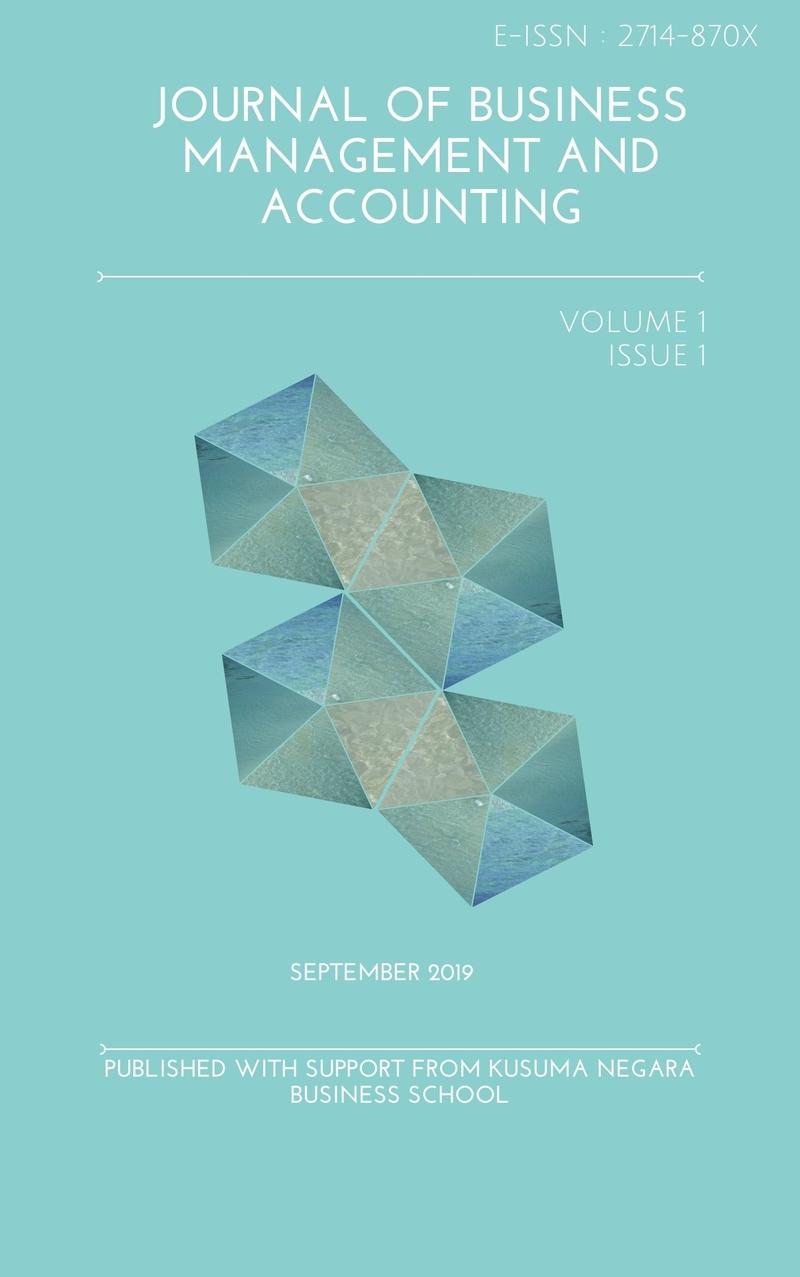 View Vol. 1 No. 1 (2019): September
